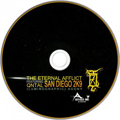 Eternal Afflict Featuring Qntal - San Diego 2K9 (Luminographic) Agony (2005/2008/2009)