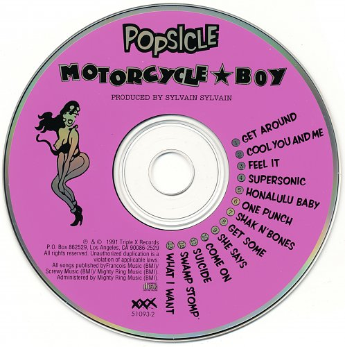 Motorcycle Boy - Popsicle (1991)