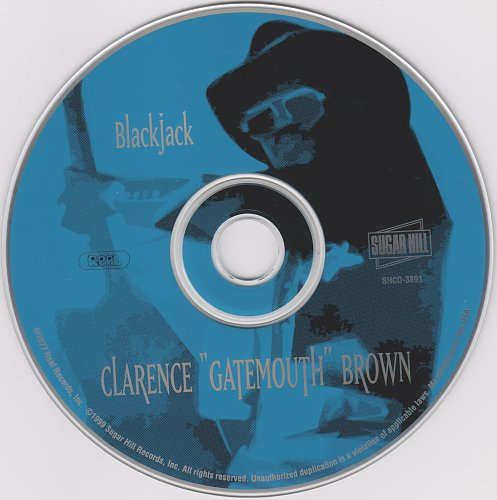 Clarence 'Gatemouth' Brown - Blackjack (1977)