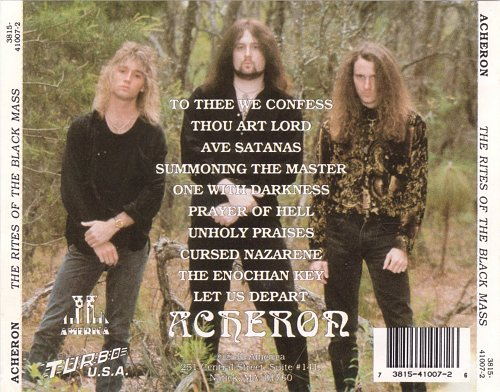 Acheron - Rites Of The Black Mass (1992)