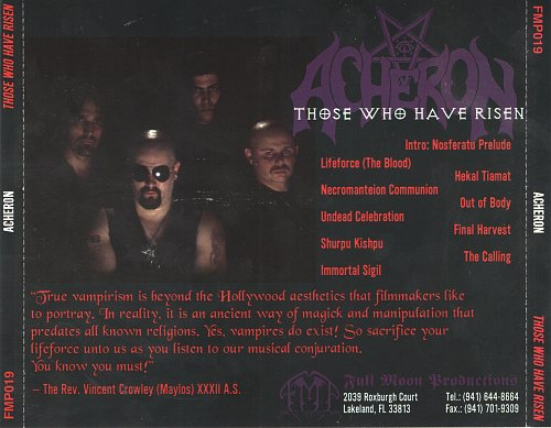 Acheron - Those Who Have Risen (1998)