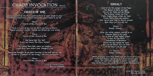 Acheron - Rebirth  Metamorphosing Into Godhood (2003)