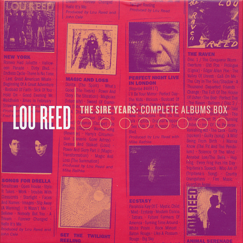 Lou Reed - The Sire Years: The Complete Albums Box (2015)