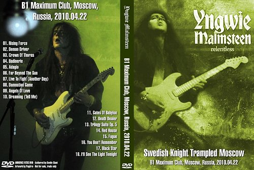 Yngwie Malmsteen Shows