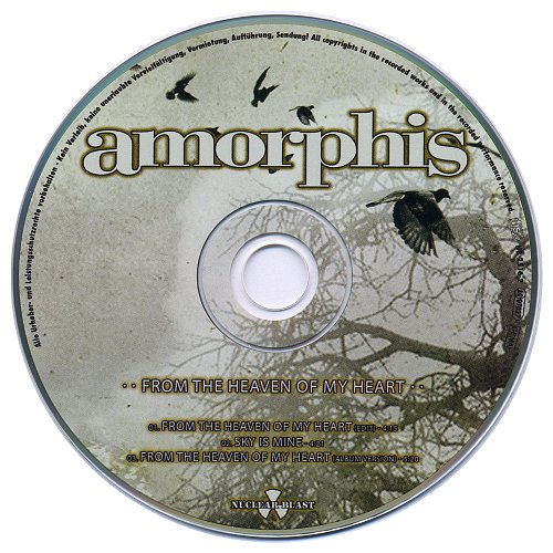 Amorphis - From The Heaven Of My Heart (2009, CD-Single)