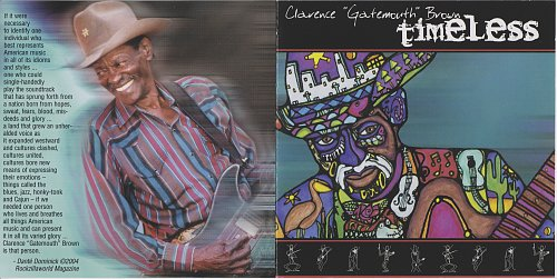 Clarence 'Gatemouth' Brown - Timeless (2004)