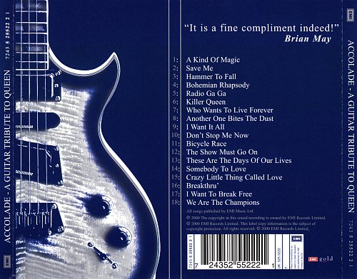 Stephen Lloyd - Accolade: A Guitar Tribute to Queen (2000)