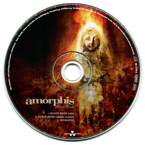 Amorphis - Silver Bride (2009, CD-Single)