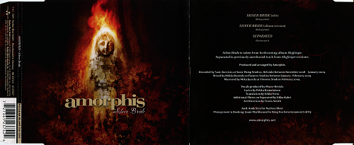 Amorphis - Silver Bride (2009, CD-Single)