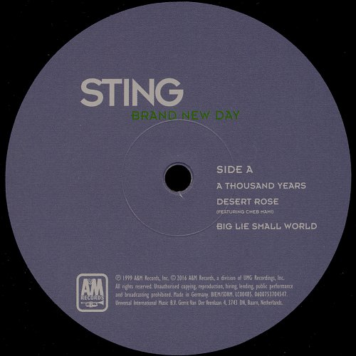 Sting - Brand New Day (1999/2016)