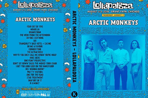 Arctic Monkeys - Lollapalooza (2018)