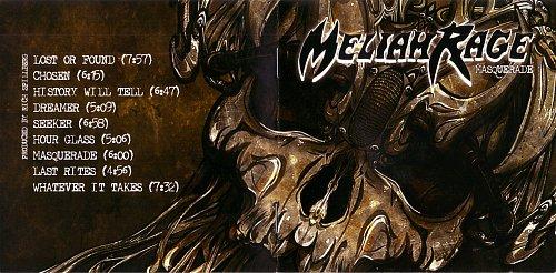 Meliah Rage - Masquerade (2009)