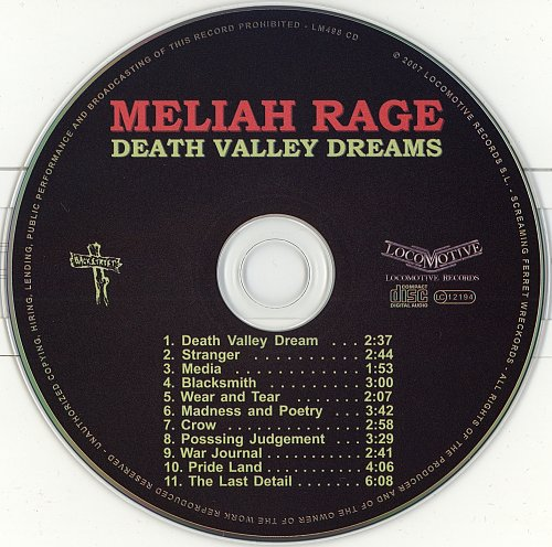 Meliah Rage - Death Valley Dream (1996)