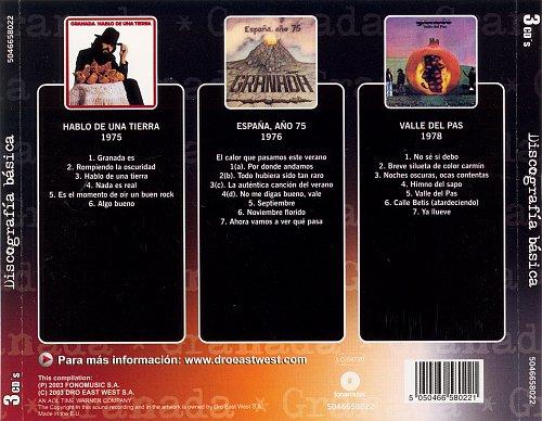 Granada - Discografia Basica (2003)