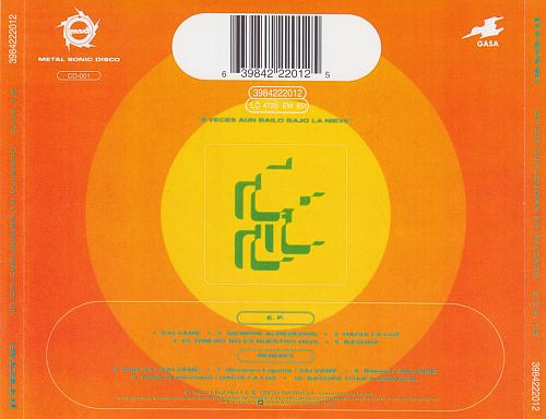 Fangoria - Un Dia Cualquiera En Vulcano (Super Extended Play 1.0) (1992)
