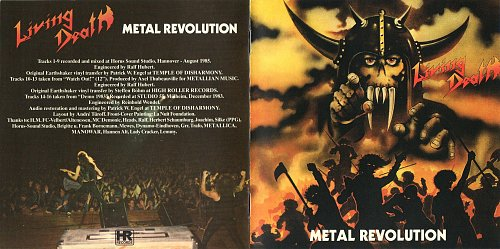 Living Death - Metal Revolution (1985)