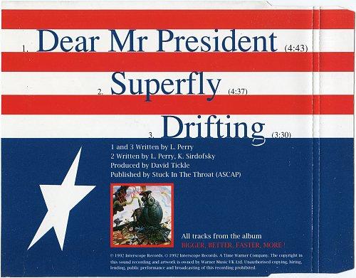 4 Non Blondes - Dear Mr. President (1992, CDS)