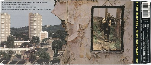 4 Non Blondes - Misty Mountain Hop (1995, CDS)