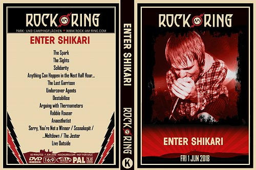Enter Shikari - Rock Am Ring (2018)