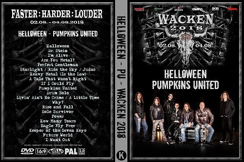 Helloween. Pumpkins United - Wacken (2018)