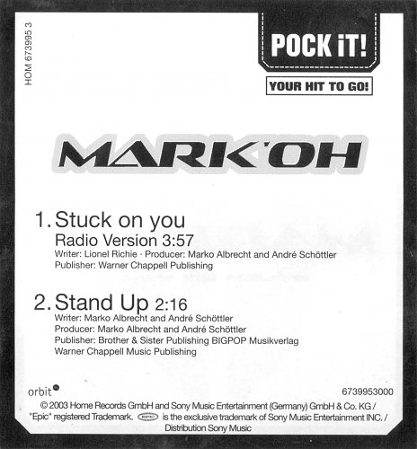 Mark 'Oh - Stuck On You (2003)