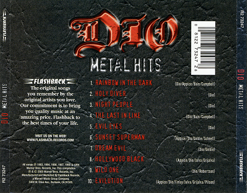 Dio - Metal Hits (2005)