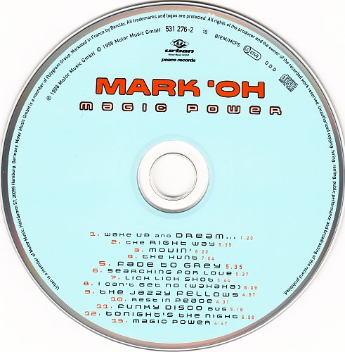 Mark 'Oh - Magic Power (1996)