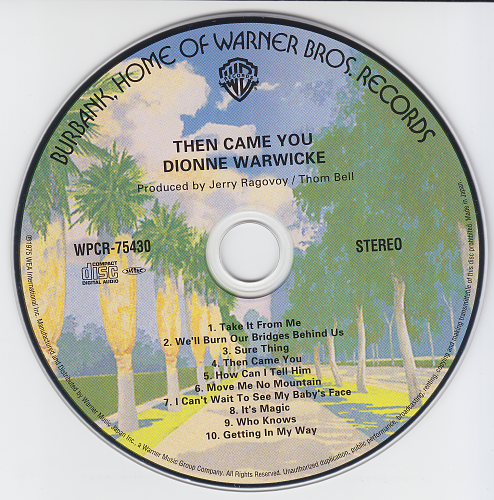 Dionne Warwicke - Then Came You (1975)