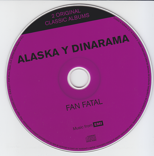 Alaska Y Dinarama - No Es Pecado / Fan Fatal (2011)