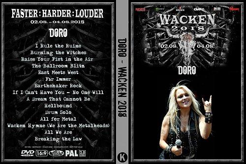 Doro - Wacken (2018)