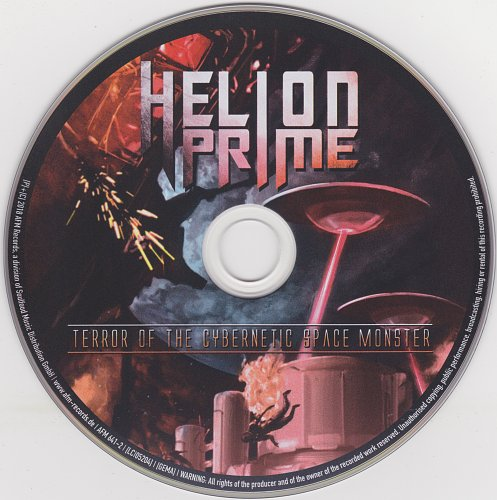 Helion Prime - Terror Of The Cybernetic Space Monster (2018)