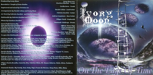 Ivory Moon - On The Edge Of Time (2002)