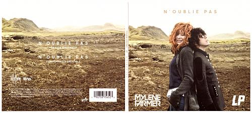 Mylene Farmer feat. LP - Noublie Pas (2018, CDS)