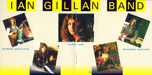 Ian Gillan Band - Live At The Rainbow (2001)