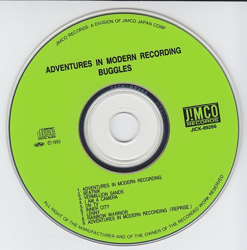 Buggles,The - Adventures In Modern Recording (1981)