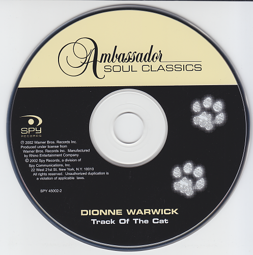 Dionne Warwick - Track Of The Cat (1975)