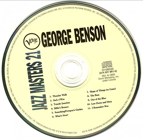 George Benson - Verve Jazz Masters 21 (1994)
