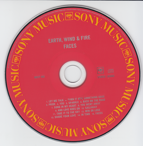 Earth, Wind & Fire - Faces (1980)