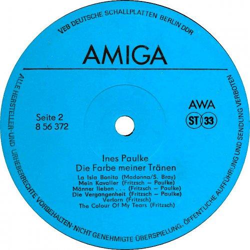 Ines Paulke – Die Farbe Meiner Tranen (1988)