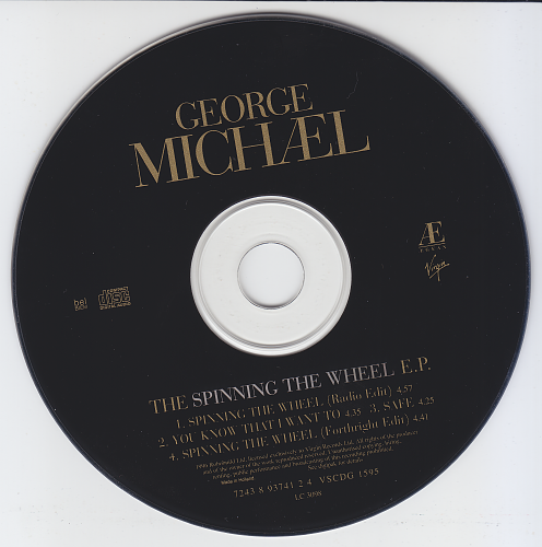 George Michael - The Spinning The Wheel E.P. (1996)