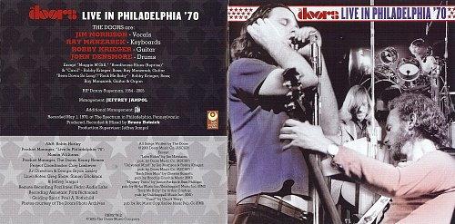 Doors, ‎The - Live In Philadelphia '70 (2005)