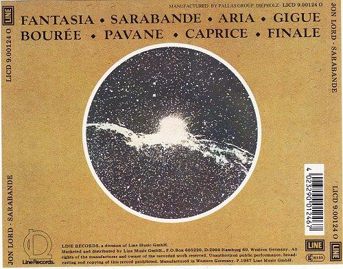 Jon Lord - Sarabande (1976)