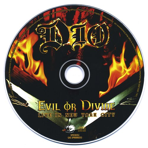 Dio - Evil Or Divine. Live in New York City (2003)