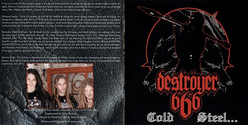 Destroyer 666 - Cold Steel... for an Iron Age (2002)