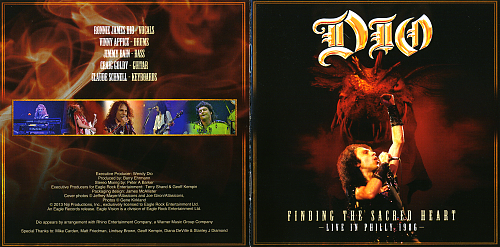 Dio - Finding The Sacred Heart. Live In Philly 1986 (2013)