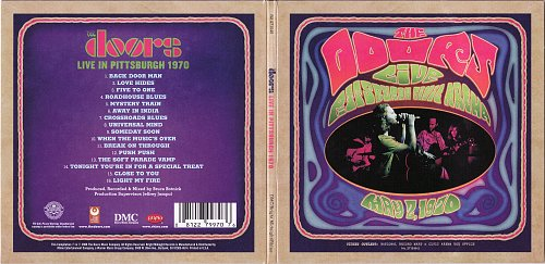 Doors, ‎The - Live In Pittsburgh 1970 (2008)