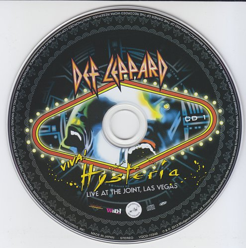 Def Leppard-Viva Husteria(Live At The Joint Las Vegas 2013)