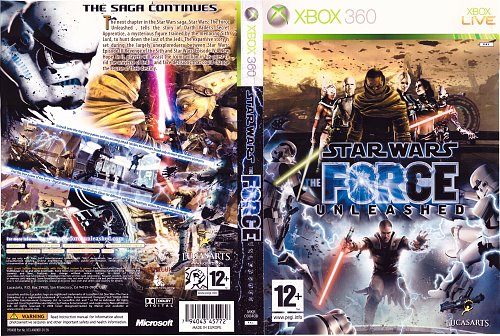 Star Wars: The Force Unleashed [2008, XBOX 360]