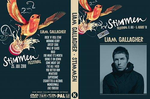 Liam Gallagher - Stimmen Fest (2018)