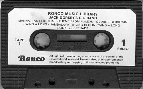 Jack Dorsey's Big Band Gold - 50 Years Of Swing (1983)